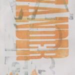Wander, 2014.  Letterpress, 9 x 6